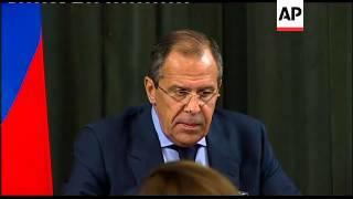 Russian FM on Medvedev