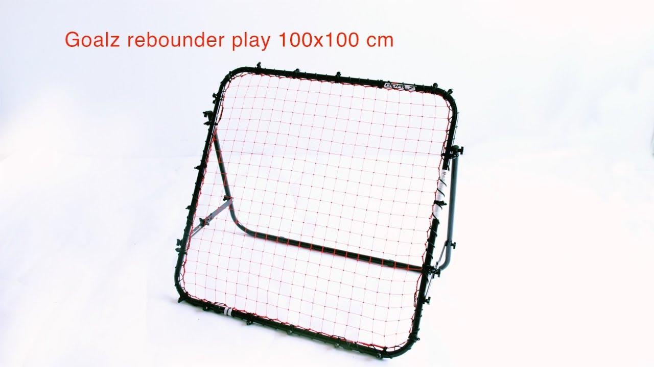 99ff3b9ea Goalz Football Rebounder Play 100 x 100 cm - Fotballmål | XXL