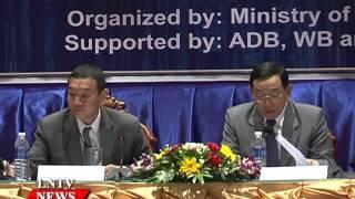 Lao NEWS on LNTV: Development partners advise on public works, transport development.22/9/2015