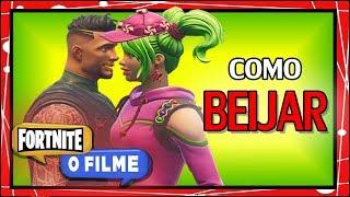COMO BEIJAR - FORTNITE O FILME #01