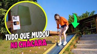 ATUALIZAÇÃO DA CHÁCARA!!!