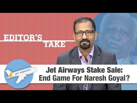 Editor's Take | Jet Airways stake sale: End game for Naresh Goyal?