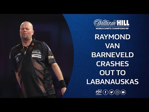 Barney Loses to Labanauskas at the 2018/19 World Darts Championship
