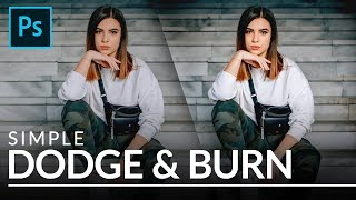 Simple Dodge Burn In Photoshop