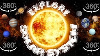360° FUNBBTV : Learn Solar System with our 360 video in english