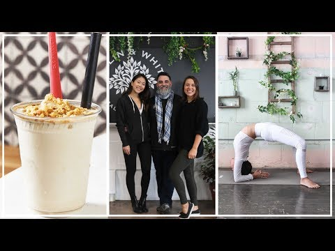 WHAT I EAT IN A DAY // VEGAN IN PHILLY