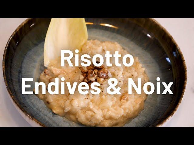 La Grande Recette - Contact FM - Risotto Endives & Noix