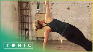 Side Plank Into Wild Thing Pose | Yoga Explained | Tonic