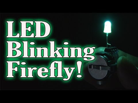 led blinking firefly youtube. Black Bedroom Furniture Sets. Home Design Ideas