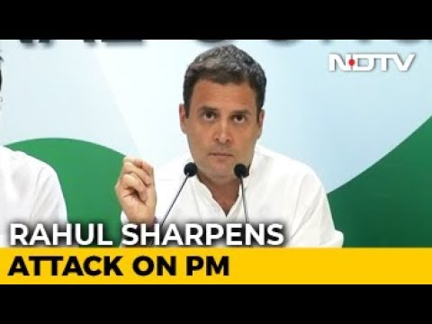 """""""Hollande Saying PM Of India Is A Thief"""": Rahul Gandhi On Rafale Deal"""
