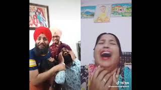 Piche Dekho Piche  / Best Punjabi Viral Funny Tiktok Videos 2019 !