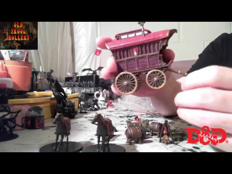 D 5e Icons Of The Realms Monster Menagerie 2 Adventurers Campsite Unboxing