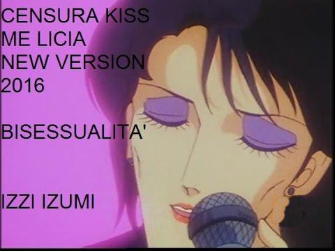 Divertente richiamo al cartone animato kiss me licia il cui padre