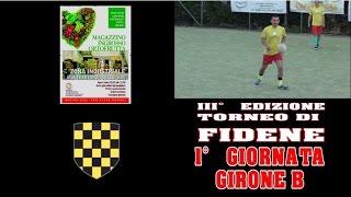 TRC - TORNEO FIDENE - 1° GIORN. - GIR. B - OLUS - LA MIMOSA LATERINA 9-10