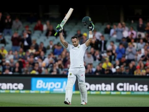 Booed by crowd, Faf Du Plessis calls Adelaide Test century his 'best'