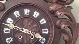 Antique Black Forest Carved Cuckoo Clock Www.blackforestclocks.org