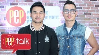 "PEPtalk. Jake Cuenca and Joem Bascon talk about their controversial love scene in ""Lihis"""