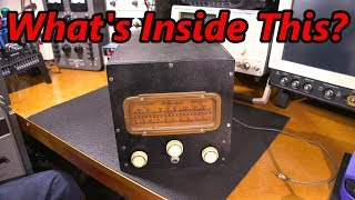 Look Inside This Rare Receiver!
