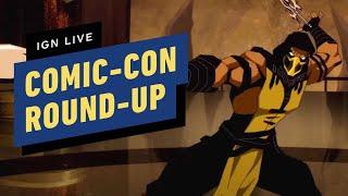 Comic-Con Round-Up: New Dragon Ball Super, The Suicide Squad, Mortal Kombat