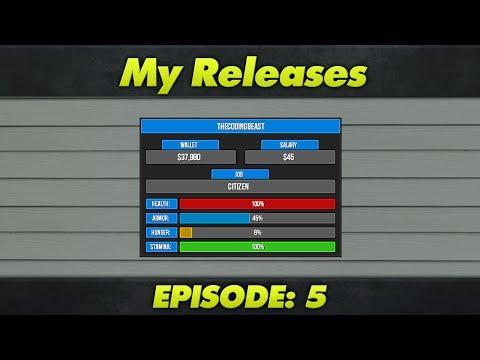 My Releases : Episode 5 : DarkRP 2.5 HUD V3