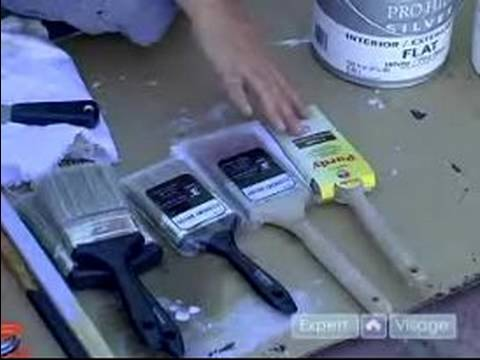 Wall Painting Supplies how to paint an exterior wall : paint tools & supplies when