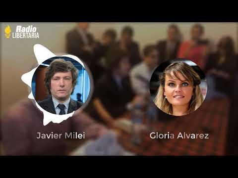javier-milei-y-gloria-alvarez-juntos-destruyendo-el-socialismo-|-radio-libertaria