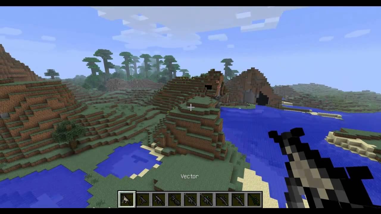Скачать Мод на оружие для minecraft 1.5.2 | Моды для Minecraft