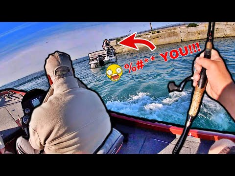We Were Ready To Fight Them! (Angry Fisherman)
