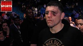 Nick Diaz Got Into a Fight Against Four Men Following UFC 202