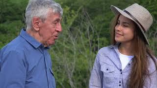 Elderly Hispanic Man Telling A Story