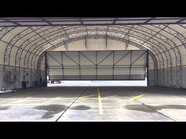 Big Top Hydraulic Powered Door System