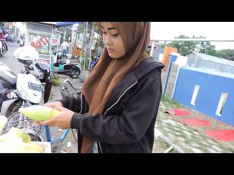 Indonesia Tegal Street Food : Jagung Bakar Sweet Sekali@Rp.4000//324//