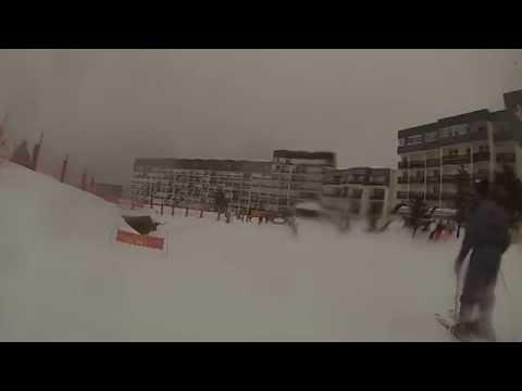 Ski en Arette 2015 Go Pro HD