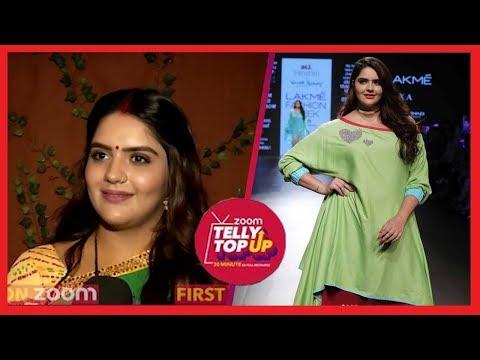 'Dhhai Kilo Prem' Actress Anjali Anand AKA Dipika Walks The Ramp & Talks About Body Shaming