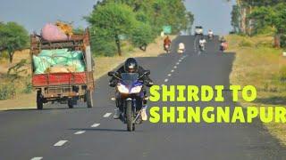 SHIRDI TO SHANI SHINGNAPUR ROAD JOURNEY