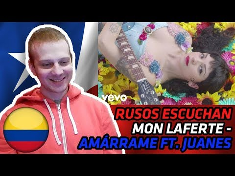 RUSSIANS REACT TO CHILEAN/COLOMBIAN MUSIC   Mon Laferte - Amárrame ft. Juanes   REACTION Mp3