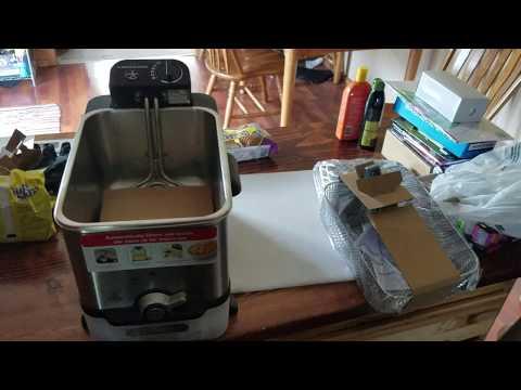 unboxing: T-fal FR8000 3.5-Liter   Deep Fryer