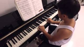 Mikhael (8) at piano - barcarolle