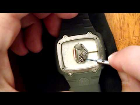 How To Replace A Watch Battery Nixon The Cannon