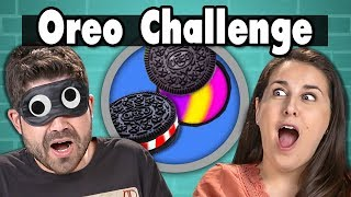 OREO CHALLENGE | People Vs. Food (ft. FBE Staff)