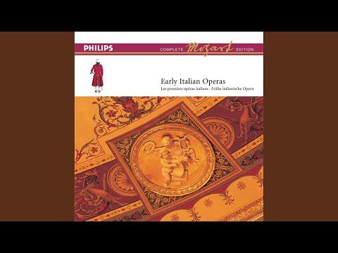 """Mozart: Lucio Silla, K.135 / Act 2 - 8. """"Ah Se Il Crudel Periglio"""" - No. 11 Aria"""