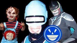 Top 15 Luchadores con personajes de peliculas