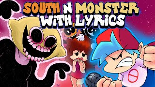 South & Monster WITH LYRICS By RecD - Friday Night Funkin' THE MUSICAL (Lyrical Cover)