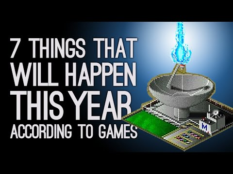 7 Things That Will Definitely Happen This Year According to Games
