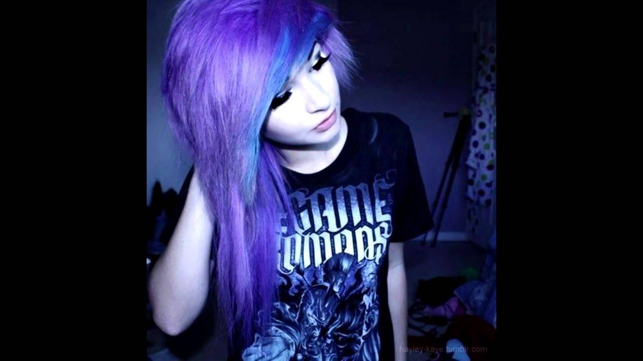 scene hair color �� youtube