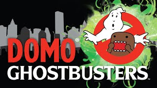 Domo Ghostbusters Stuffed Figure Collection Speed Draw Claw machine Walmart Slimer Stay Puft