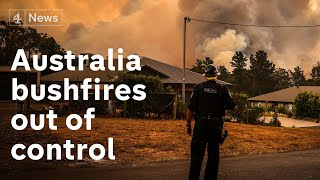 Australian bushfires continue to rage as death toll rises