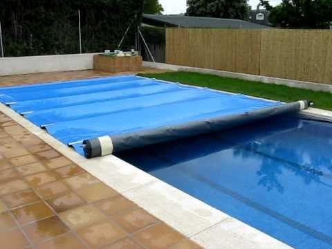 Climatizacion de piscinas cubierta de barras albiges youtube - Parches para piscinas de lona ...