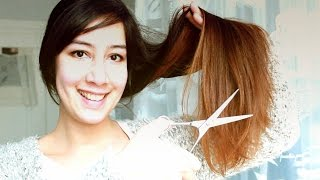 Haarspliss entfernen I Splissschnitt