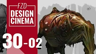 Design Cinema – EP 30 - Character Silhouettes Part 02